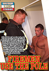 Firemen Use The Pole 01