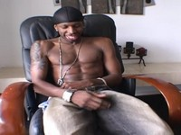 Black Stud John John Jerks It