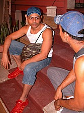 Solo and Hardcore Tanned Latino Dudes
